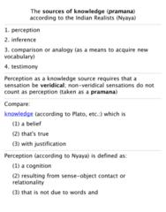PHL 302 Lecture Notes - Nyaya, Pramana, Syllogism