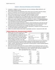 BU247 Lecture Notes - Balanced Scorecard, Accounts Receivable, Enterprise Resource Planning
