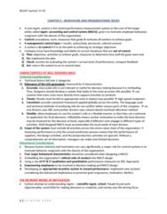 BU247 Lecture Notes - Performance Measurement, Professional Code Of Quebec, Job Satisfaction