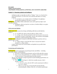 PSYA02H3 Chapter Notes - Chapter 9: Anthropometry
