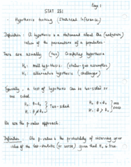 testing of hypothesis-lecture summary.pdf