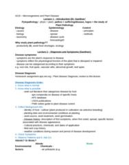 Biology 4218A Study Guide - Midterm Guide: Verticillium, Lightning, Ethylene