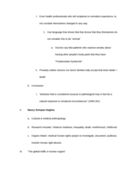 ANT 185 Study Guide - Brain Death, Medical Anthropology