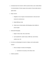 ANT 185 Chapter Notes -Ethnography