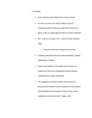 ANT 185 Study Guide - Surrogacy