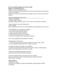 DES 127A Study Guide - Midterm Guide: Speed Bump, Ecological Footprint, Universal Design