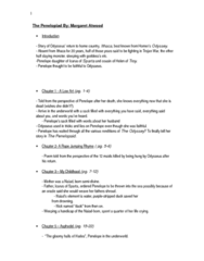 ENGB03H3 Chapter Notes -Odysseus