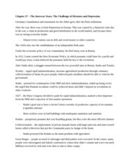 HIST 1031 Chapter Notes - Chapter 27: Strategic Defense Initiative, Brezhnev Doctrine, Atlantic Charter