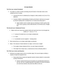 ASTR 101 Chapter Notes -Parabolic Trajectory, Escape Velocity, Hyperbolic Trajectory