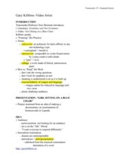 TRM 151 Lecture Notes - Archaism