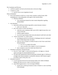 CAS PO 141 Lecture Notes - Equal Protection Clause, Supremacy Clause, Patient Protection And Affordable Care Act