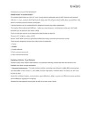 SOC 148 Lecture Notes - Hip Hop, Collective Behavior, Time Warner