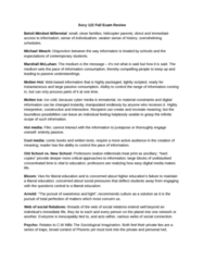 SOCY 122 Study Guide - Final Guide: The Sociological Imagination, Productive Forces, Labour Power