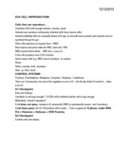 BIOL107 Chapter Notes -Cytokinesis, Telophase, Helicase