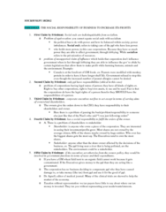 SOCB58H3 Study Guide - Midterm Guide: Dow Chemical Company, Peanut Allergy, Grameen Bank