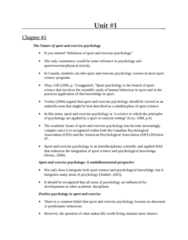 Sport Psychology - All Notes Email.doc