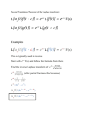 MATH 251 Lecture Notes - Partial Fraction Decomposition
