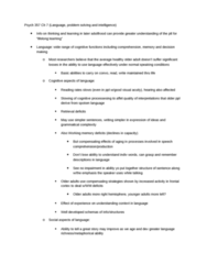 PSYC 357 Chapter Notes -Wechsler Adult Intelligence Scale, Theory Of Multiple Intelligences, Salthouse