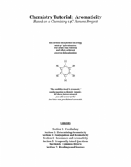 CHM136H1 Lecture Notes - Furan, Aromaticity, Pyrrole