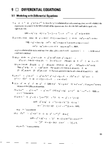 Chapter 9 Solution Manual Calculus Early Transcendentals 7th Edition