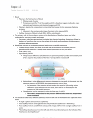 PCB 4723C Lecture Notes - Pulmonary Circulation, Pressure Measurement, Hydrostatics
