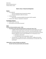 PSYC 318 Lecture Notes - Lecture 4: Inbreeding, Reuptake, Taurine