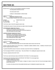 ECON 0110 Lecture Notes - Federal Funds Rate, Federal Open Market Committee, Discount Window