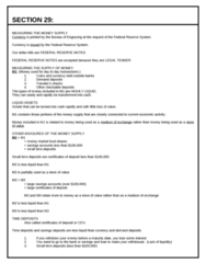 ECON 0110 Lecture Notes - Financial Institution, Federal Reserve Note, Federal Reserve System