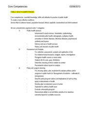 Health Sciences 3040A/B Chapter Notes -Biostatistics