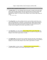 PSYC 208 Lecture Notes - Plantar Reflex, Primitive Reflexes, Motor Skill