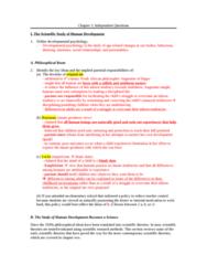 PSYC 208 Chapter Notes - Chapter 1: Tabula Rasa, Paul Baltes, Developmental Psychology
