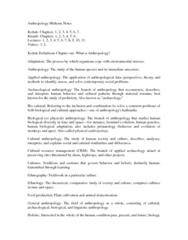 ANTH 1150 Study Guide - Midterm Guide: Linguistic Description, Sociolinguistics, Phenotype