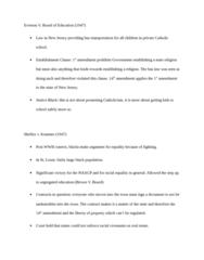 LAWS 2180 Study Guide - Establishment Clause, Judicial Restraint