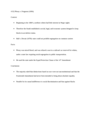 LAWS 2180 Lecture Notes - Equal Protection Clause