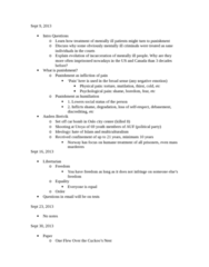 SOC446H5 Lecture Notes - Anders Behring Breivik, Chlorpromazine, Psychological Pain
