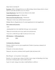 Study Guide for Lab Quiz 1.docx