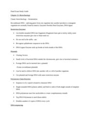 BIOL 1001 Study Guide - Tooth Enamel, Noncoding Dna, Interferon