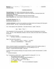 CHEM 1000 Lecture Notes - Lecture 4: Calorimeter, Process Function, Joule