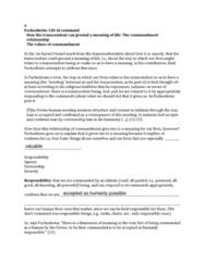 PHIL 1200 Lecture Notes - Emil Fackenheim