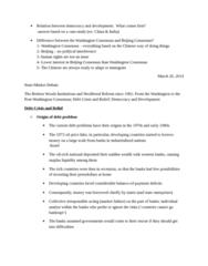 POL 3115 Lecture Notes - International Monetary Fund, Beijing Consensus, Washington Consensus