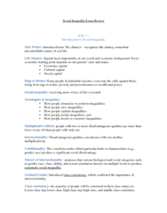 SOC102H1 Study Guide - Final Guide: Anomie, Consumerism, Conditionality