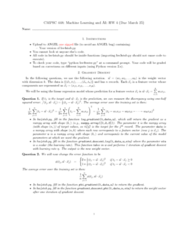 CMPSC 448 Lecture Notes - Feature Vector, Gradient Descent