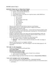 MUS 505 Lecture Notes - Lecture 6: Ais People, Fun, Fun, Fun, The Beach Boys