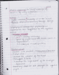 PSY 205-Lecture-Ch. 1 & Ch. 2: Evolution of Psychology (Pg. 2)