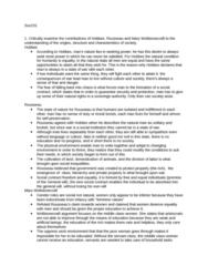 SOC231H5 Study Guide - Midterm Guide: Class Consciousness, Canada Goose, Class Conflict