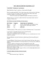 PSYC 1001 Study Guide - Final Guide: Suggestibility, Immunosuppression, Narcolepsy
