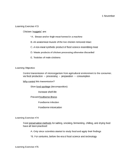 FSHN 125 Lecture Notes - Food Preservation, Foodborne Illness, Slow Food