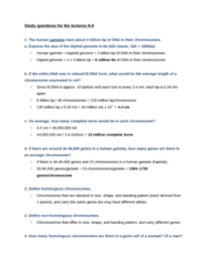 BIOL308 Study Guide - Trisomy, Apoptosis, Cytokinesis