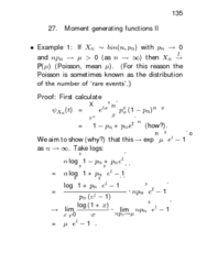 STAT312 Lecture Notes - Exponential Distribution, Independent And Identically Distributed Random Variables, Electronic Component