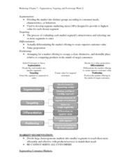 COMM 131 Lecture Notes - Psychographic
